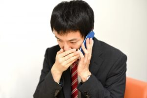 電話で借金無料相談を男性が新潟で
